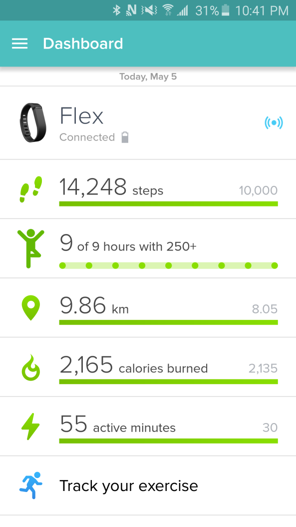 FitBit Day 2