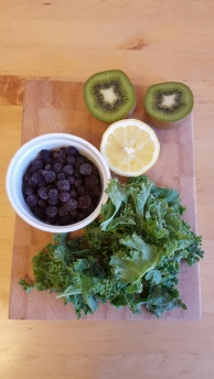 Green Detox Smoothie Ingredients